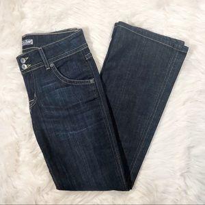 Hudson Mid-Rise Bootcut Denim Jeans Size 29